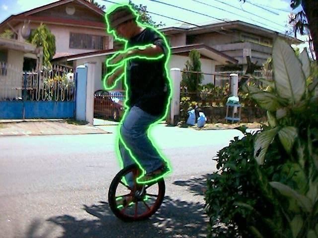 Geri graduates BMX and does Unicycling.