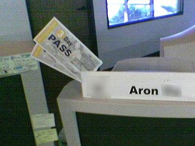 Aron Yu Christian Chinese Web Designer