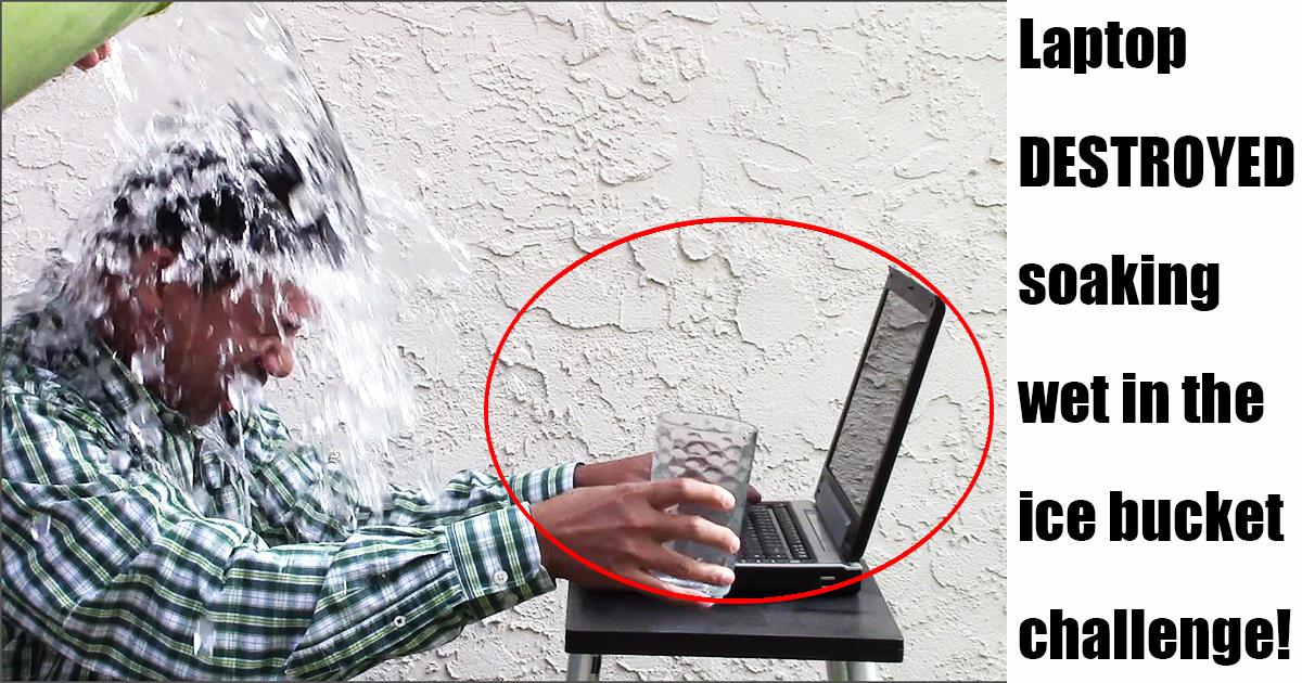 Benj Arriola participates in the ALS Ice Bucket Challenge